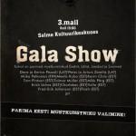 03.05.2009. Eesti Mustkunstnike Liidu sünnipäeva/avamisürituse Gala Show